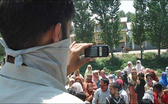 Kashmir video violence