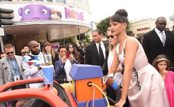 Singer Rihanna attends the